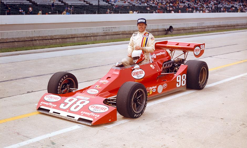 John Martin in his 1976 qualifying photo