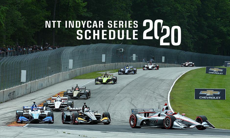 NTT IndyCar Series 2020 Schedule