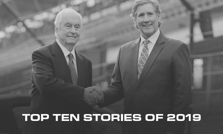 Roger Penske and Tony George