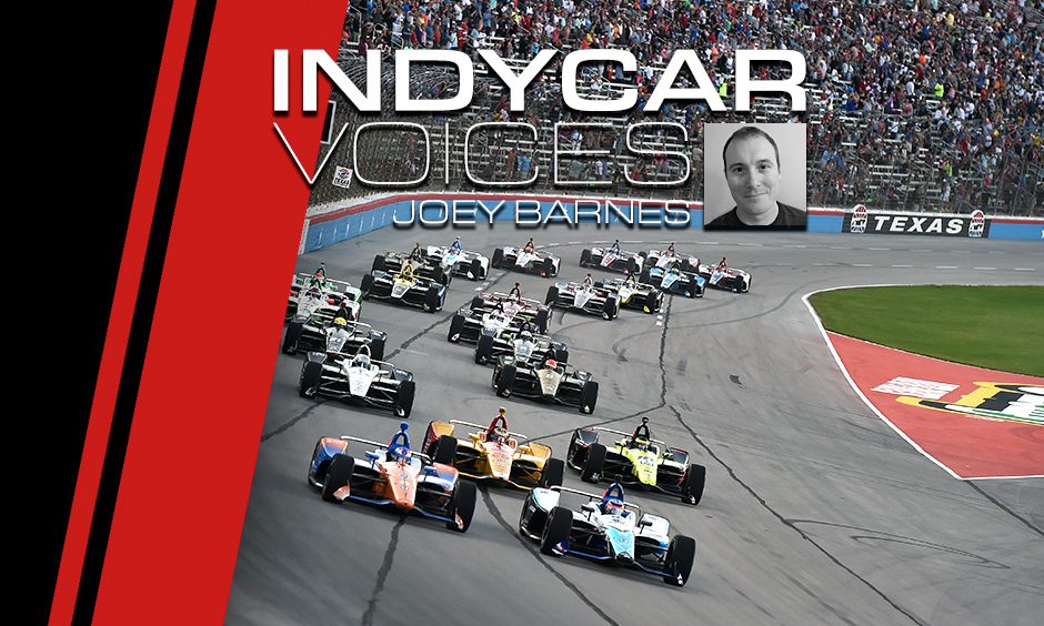 INDYCAR Voices - Joey Barnes