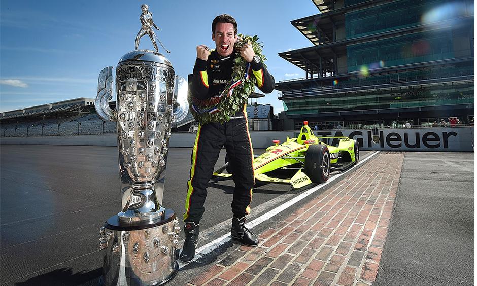 2019 winner Simon Pagenaud