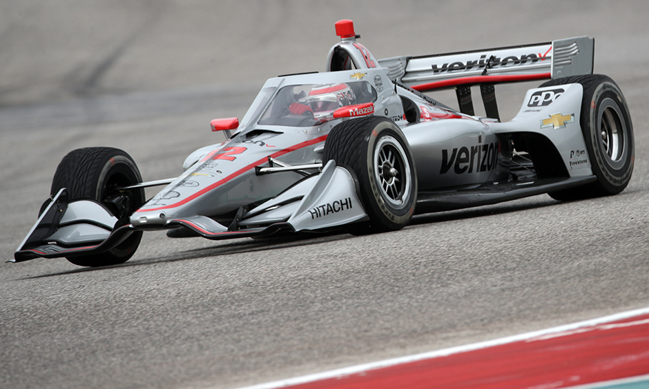 Will Power on course at COTA