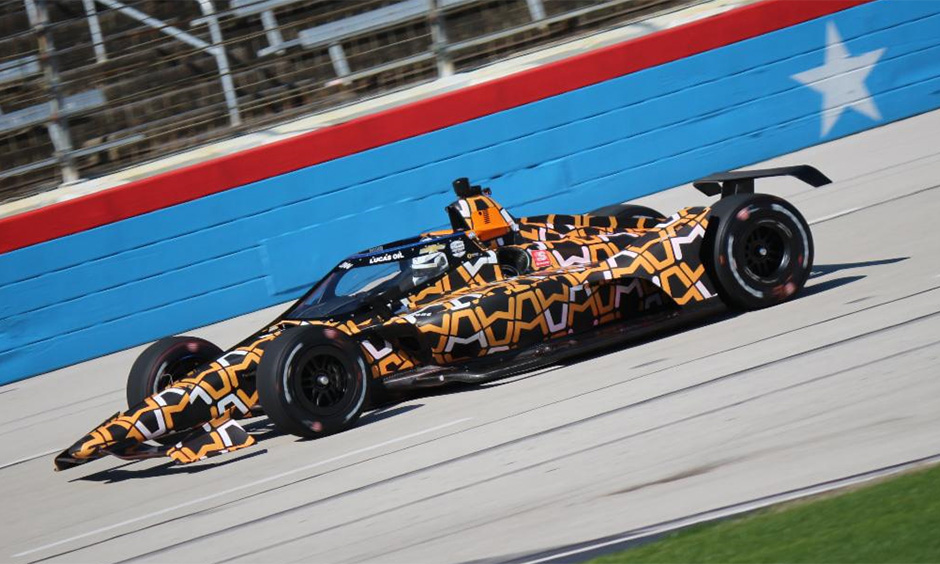 Oliver Askew at Texas Motor Speedway