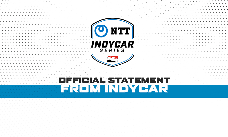 NTT IndyCar Series Reveals Adjusted Schedule