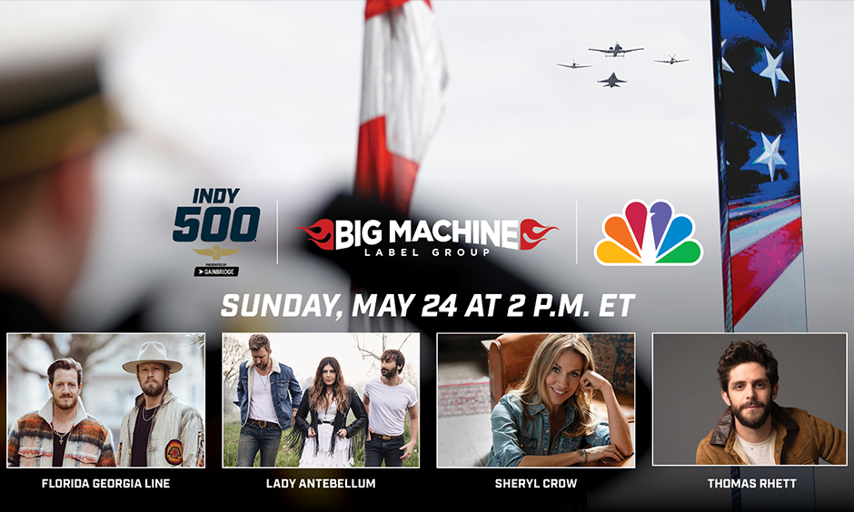 Big Machine Records Anthem Announcement