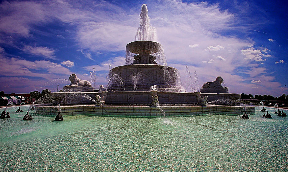 Scott Memorial Fountain