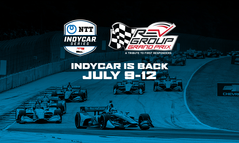 INDYCAR will welcome race fans to the July race weekend at Road America