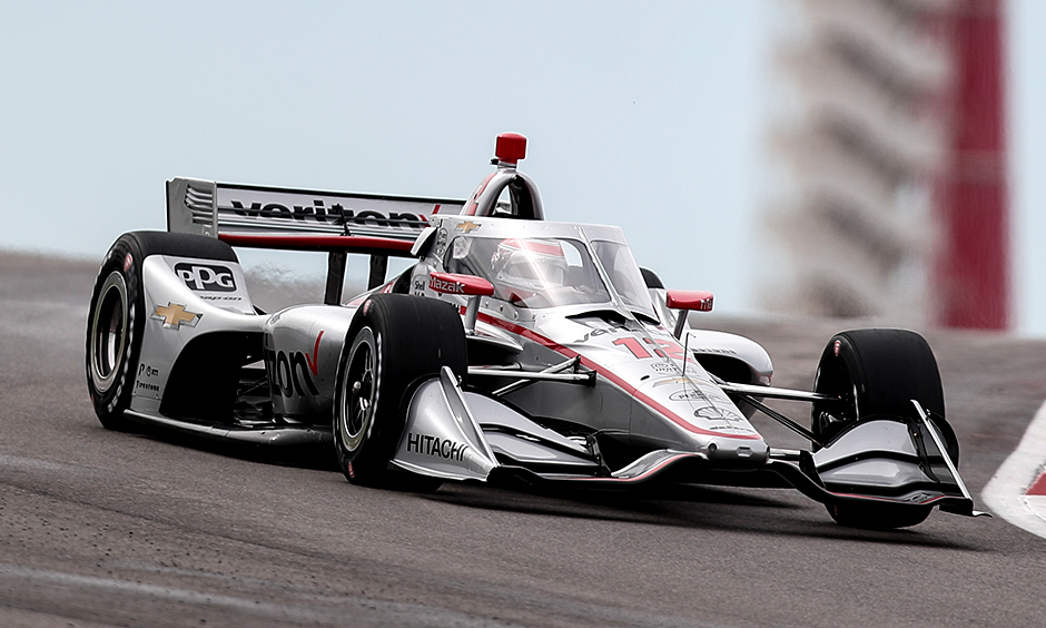 Will Power on track at COTA