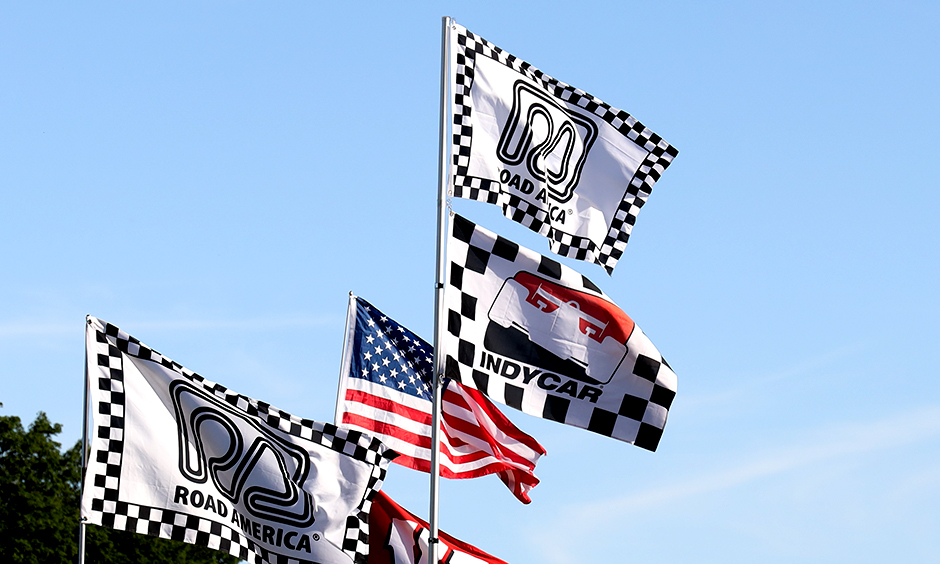 Flags at Road America