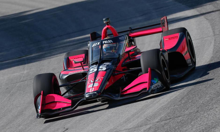 Alex Palou on track at Road America