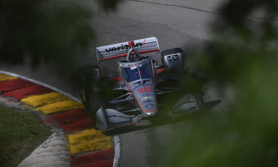 Will Power on track at Road America