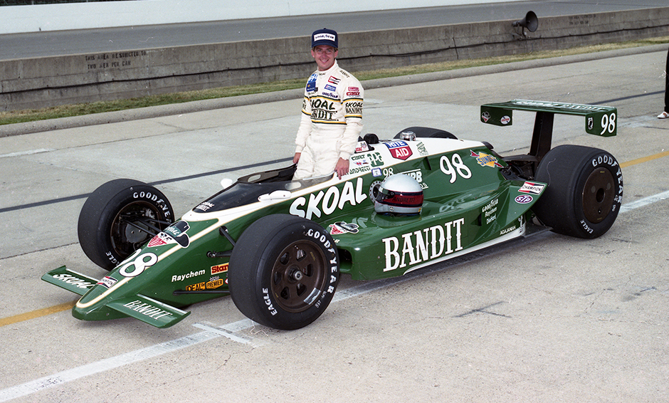John Andretti first qualifying photo