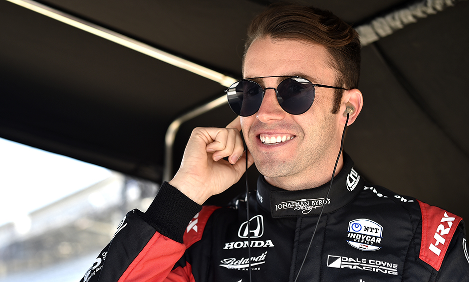 James Davison is back in the Indy 500 with Dale Coyne Racing.