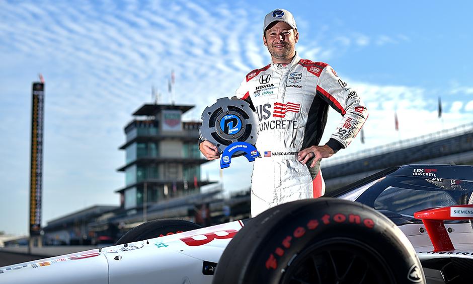 Marco Andretti portrait