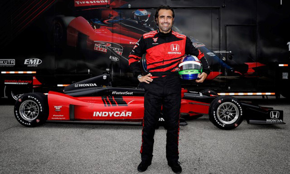 Dario Franchitti will drive Honda's Fastest Seat in Sports