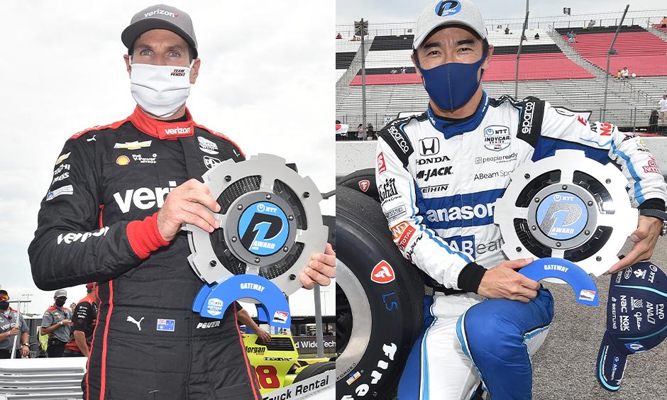 Will Power & Takuma Sato