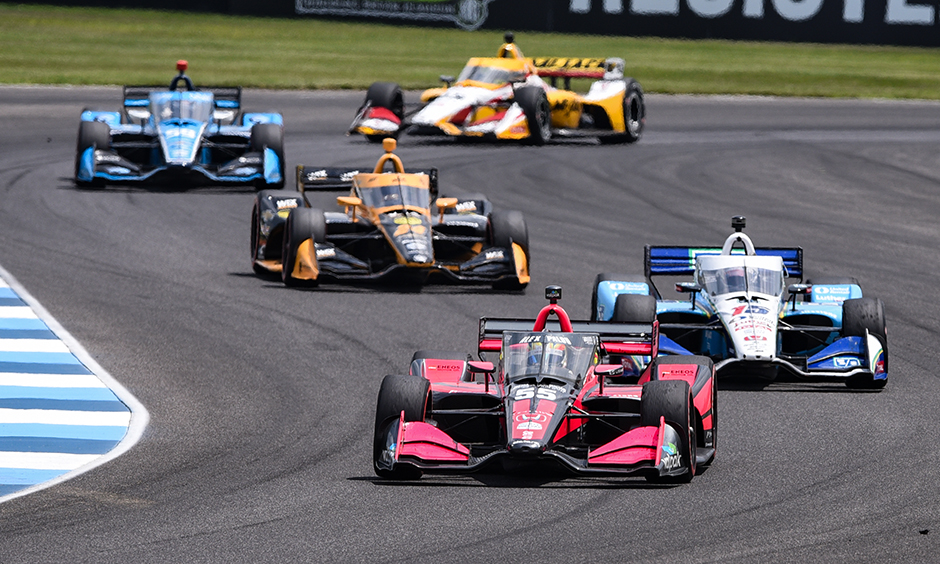 On track action from the GMR Grand Prix