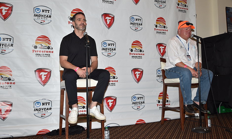 Jimmie Johnson and Chip Ganassi Racing