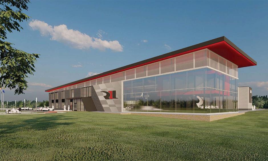 Rendering of Rahal Letterman Lanigan Racing's new headquarters.