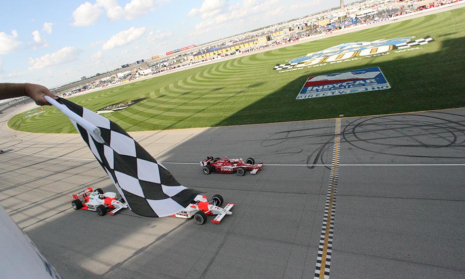 2008 Chicagoland finish