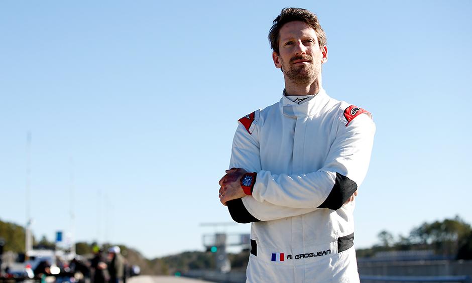 Romain Grosjean portrait