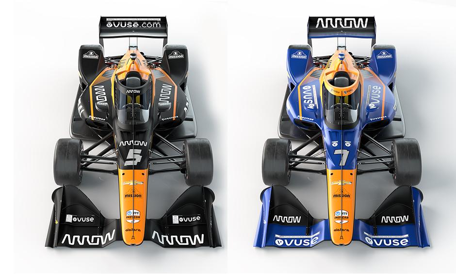 Arrow McLaren SP cars