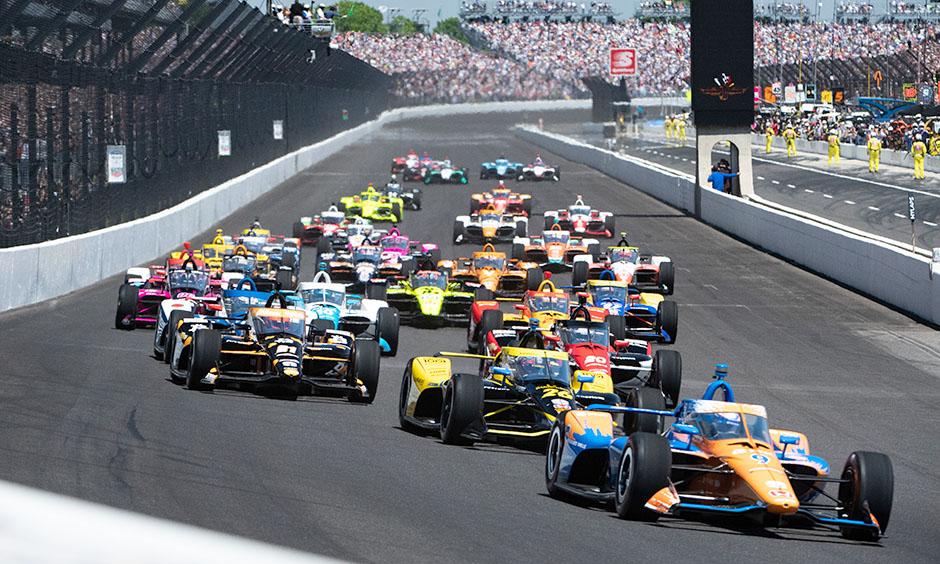 Indianapolis 500 start