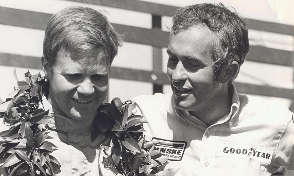 Mark Donohue and Roger Penske