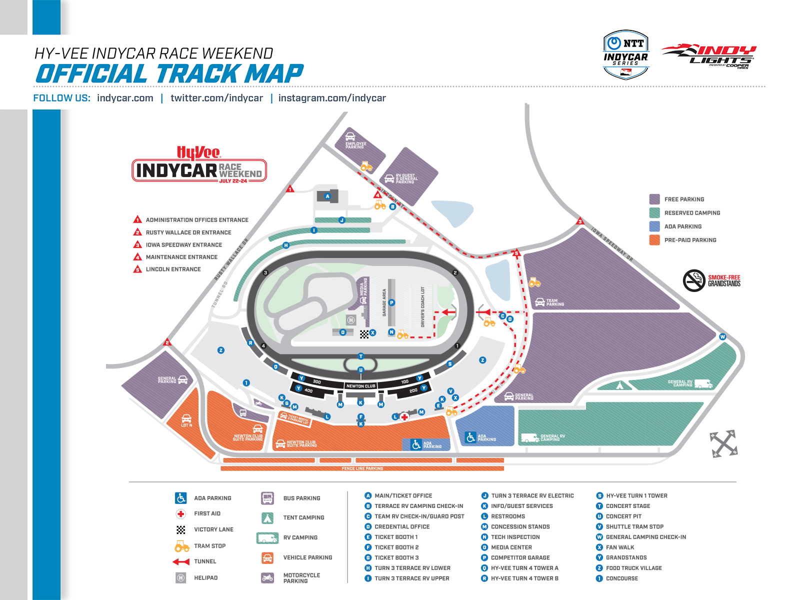 indianapolis motor speedway track map