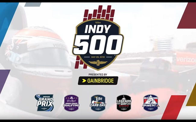 This Is May  103rd Indianapolis 500 TV commercial 5c613585d638