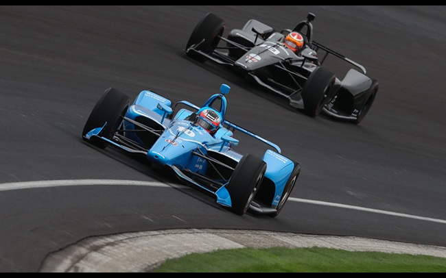 43c56c1fd45 2019 NTT IndyCar Series  Indianapolis Motor Speedway open tes.