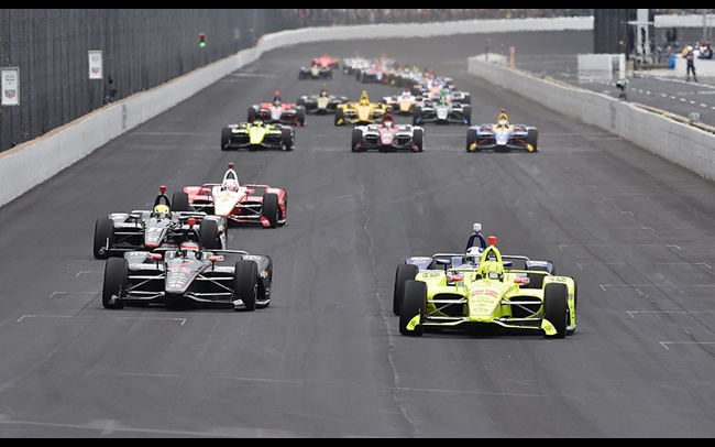 the latest 0cb16 0560c Onboard lookback  Indy 500 thrilling opening lap