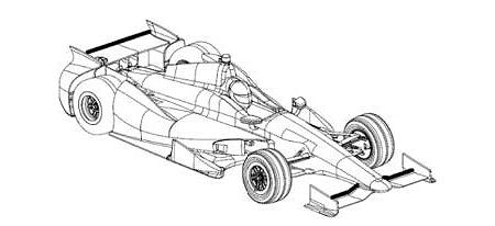 Superspeedway Car