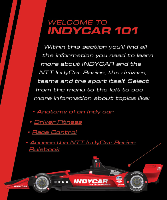 Welcome to INDYCAR 101