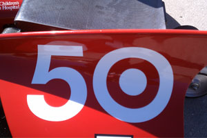 New Number For Dario Franchitti for Indy 500