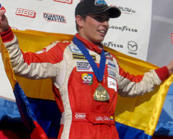 Gabby Chaves wins at Road Atlanta