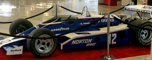 Bobby Unser Car at Indianapolis International Airport