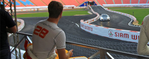 RHR watches action at Race Of Champions