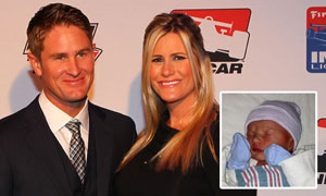Ryan and Beccy Hunter-Reay welcome Ryden