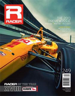 RACER Magazine Spring 2013 cover