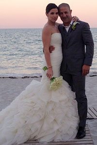 Mr. & Mrs. Tony Kanaan