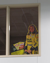 Sarah Fisher Hartman opens Speedway Shop