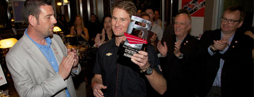 Ryan Hunter-Reay awarded Racer of the Year by RACER Magazine