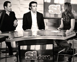 Helio and Dario visit SI in New York