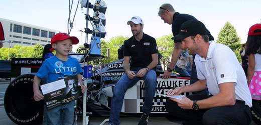 Milwaukee hospital visit with Hinchcliffe and Kimball