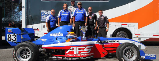 Matthew Brabham wins 2013 Pro Mazda Championship