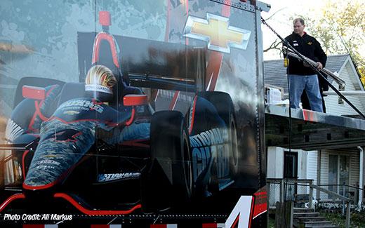 Panther Racing assists with Jackson House refurbishment