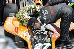 Dario Franchitti won his first Indianapolis 500 in 2007.