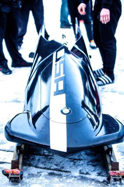 Bobsled that US will use in Sochi