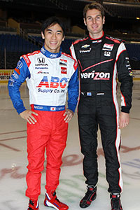 Takuma Sato and Will Power